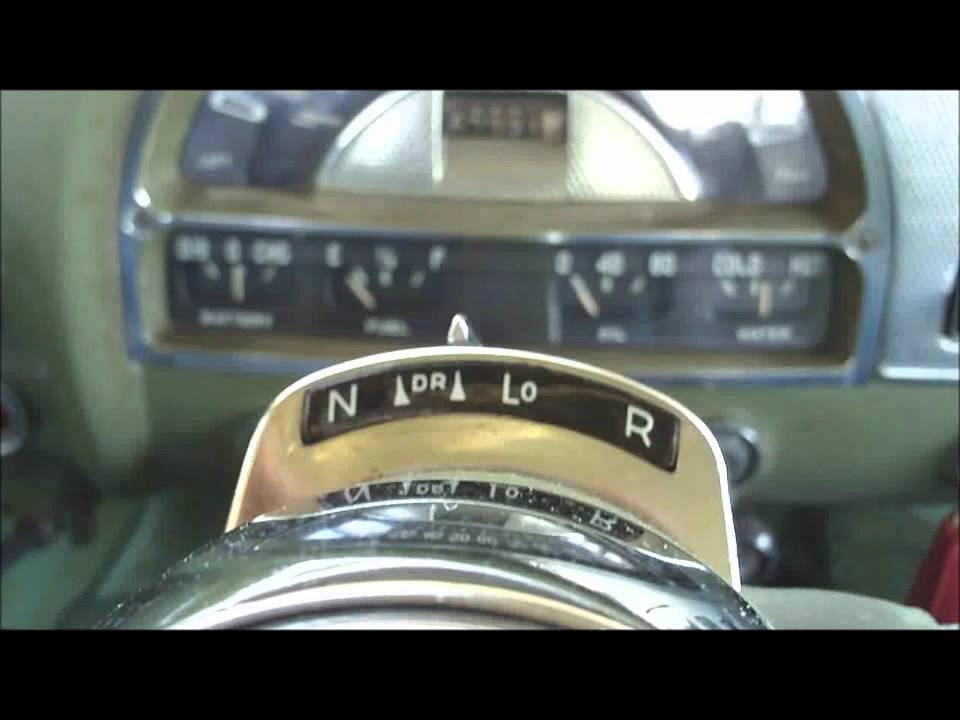 GM Hydra-Matic Drive in a 1953 Pontiac - YouTube