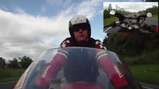 front facing test - one of the last videos of me riding my sprint.