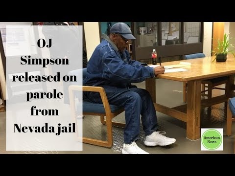 American News - OJ Simpson released on parole from Nevada jail