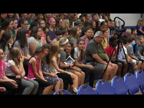 Memorial School 6th Grade Awards 2017