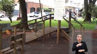 Vereadores em Ação - Porsani - Praça do Carmo