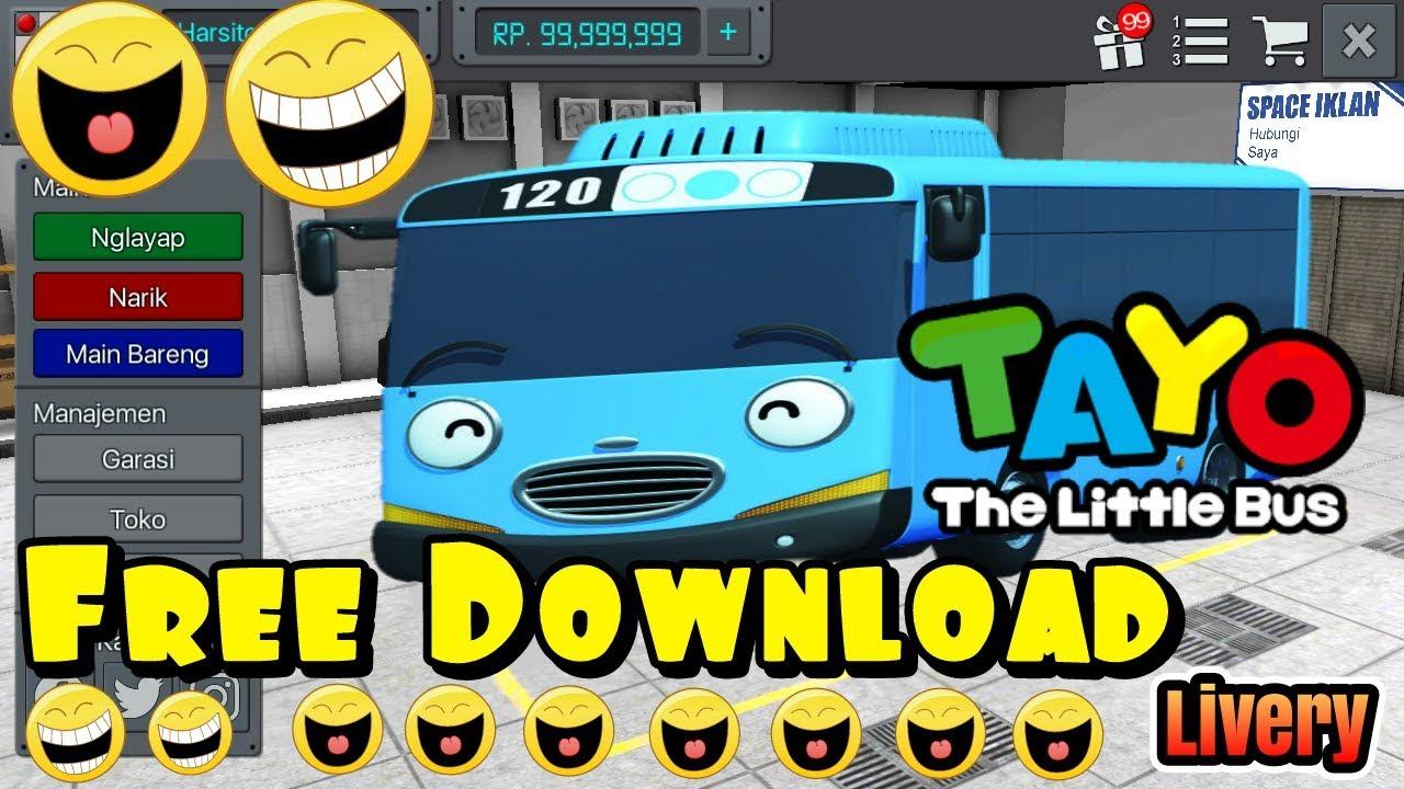 Bussid Download Livery Bus Tayo Bussid Jadi Tayo Bus Tayo