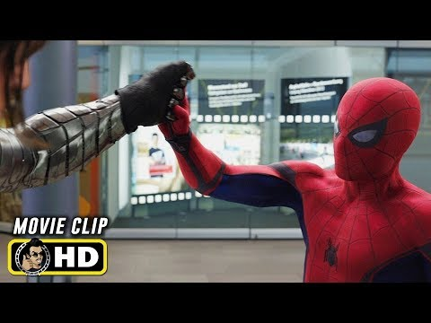 CAPTAIN AMERICA: CIVIL WAR (2016) Clip - Spider-Man Vs. Winter Soldier [HD]