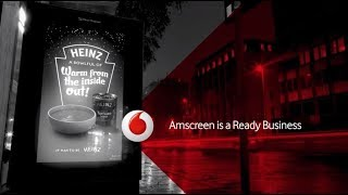 Amscreen and Vodafone IOT Case Study