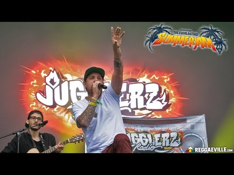 Jugglerz Radio feat. Jah Sun & Randy Valentine in Cologne, Germany @ SummerJam 2017