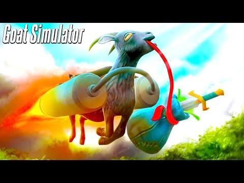 絶対に笑ってしまう伝説のヤギのゲーム「 Goat Simulator 」Part1 最終回