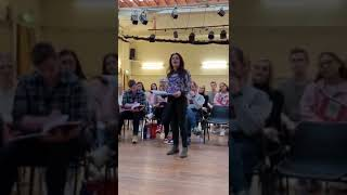 Rachel Tucker | Woman from Pirate Queen - Rehearsal