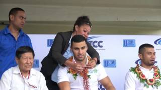 PITA TAUFATOFUA / FAN LOVE / TONGA COMMUNICATIONS CORPORATION