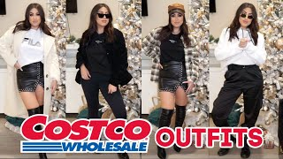 COSTCO SHOPPING & STYLING CHALLENGE *OUTFITS FROM COSTCO*