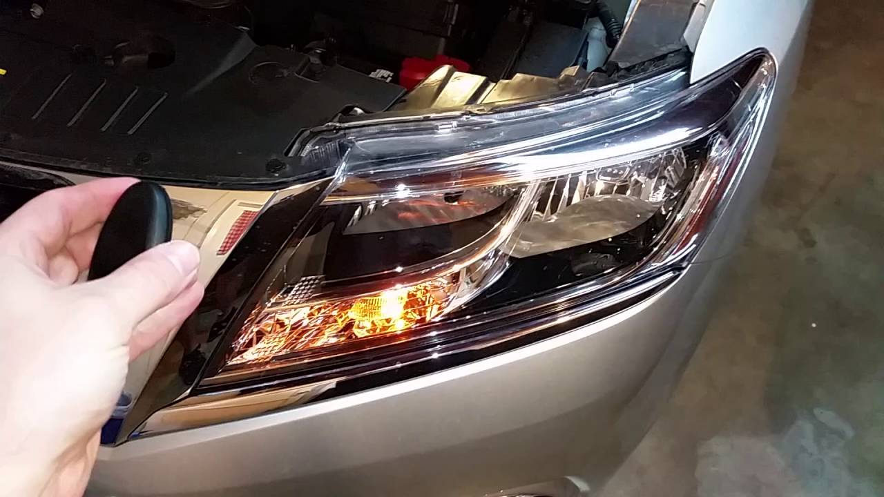 2017 2016 Nissan Pathfinder Suv Testing Key Fob After Changing Battery Parking Lights Flashing