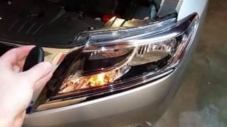 2013-2016 Nissan Pathfinder SUV - Testing Key Fob After Changing Battery - Parking Lights Flashing