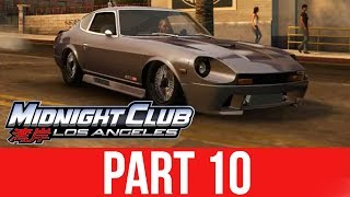 MIDNIGHT CLUB LOS ANGELES XBOX ONE Gameplay Walkthrough Part 10 - RACING FOR A DATSUN
