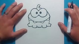 Como dibujar un monstruo paso a paso 18   How to draw a monster 18