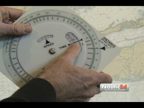 Sailing lesson - The Nautical Slide Rule