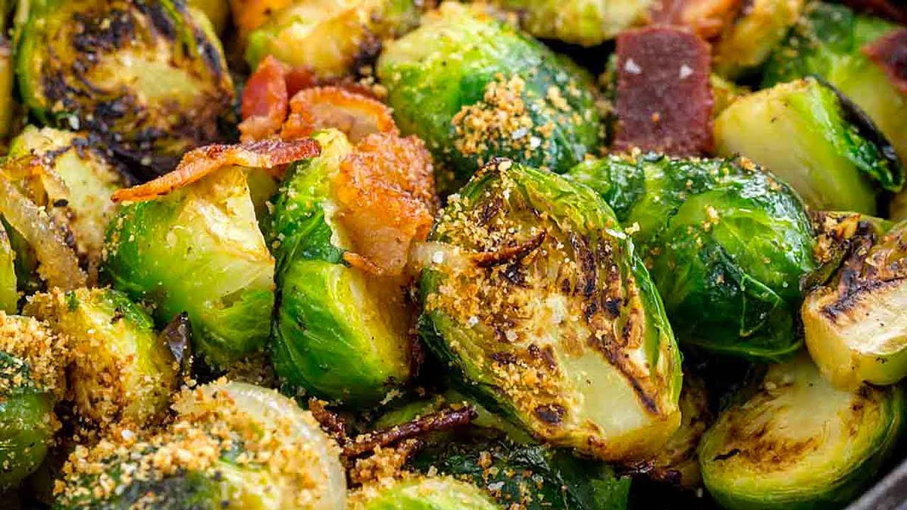 Sautéed Brussels Sprouts with Bacon - Jessica Gavin