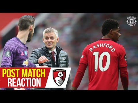 Solskjaer, Rashford & Wan-Bissaka delighted with big win over Bournemouth | Manchester United