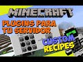 Minecraft: Plugins para tu Servidor - Custom Recipes (Crea tus Propios Crafteos!)