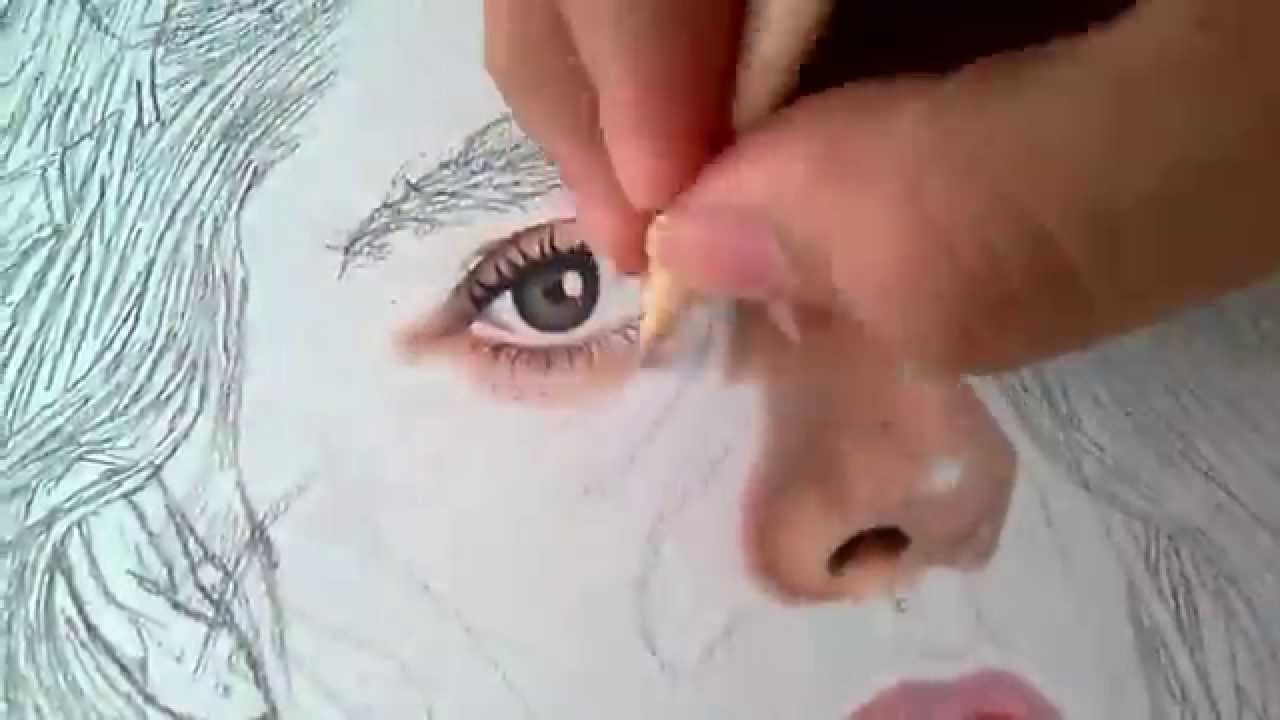 Dibujo Realista Con Lapices De Colores Youtube Lapices De Colores Dibujo Realista Lápices De Acuarela