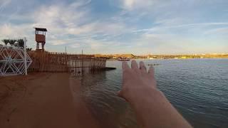 видео: Пляж Hala (песчаный) отеля IL MERCATO HOTEL&SPA 5*. ЕГИПЕТ.