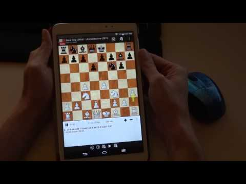 Analyzing games with ChessBase for Android