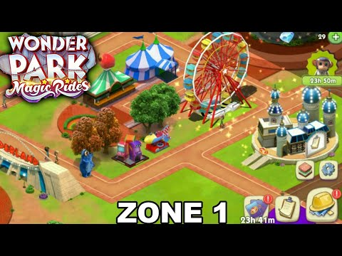 WONDER PARK MAGIC RIDE | ZONE 1| (Android\iOS) Gameplay #1