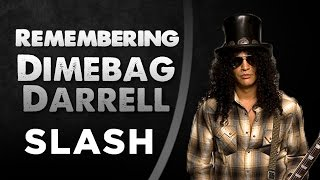 Slash - Remembering Dimebag Darrell
