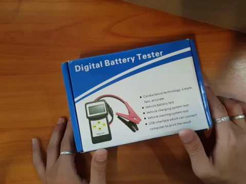 รีวิวเครื่องวัด Battery Tester Micro 200.
