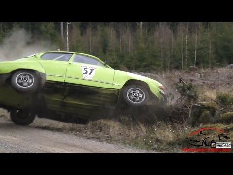 Best of Swedish (+Finnish) Rally Action 2016