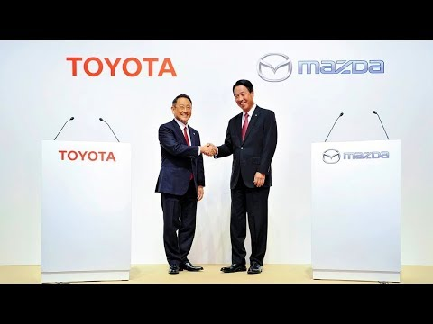 2017 Toyota and Mazda Joint Full Press Conference - Business and Capital Alliance | Event