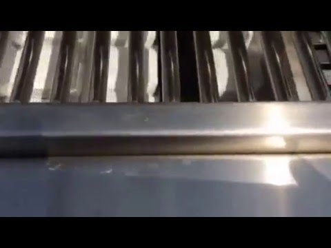 Lynx grill repair and cleaning after video