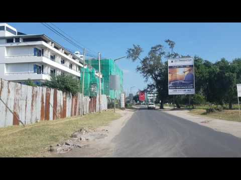 Drive through Dar es Salaam during my 1st visit part 1