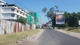Drive through Dar es Salaam during my 1st visit part 1