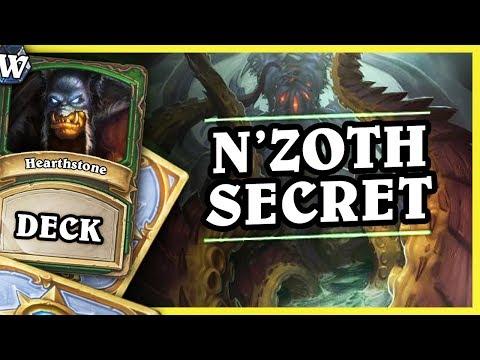 N'ZOTH SECRET HUNTER - Hearthstone Deck Wild (KotFT)