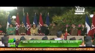 General Avilés: Ejército de Nicaragua continuará defendiendo la Paz en Nicaragua