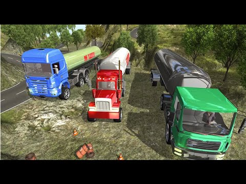 OffRoad Oil Tanker Truck Cargo Android Gameplay HD