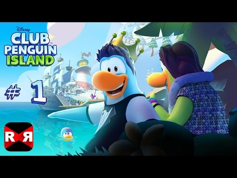 Club Penguin Island (by Disney) - New Adventure - iOS / Android Gameplay Part 1