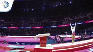 Raya APOSTOLOVA (BUL) - 2018 Artistic Gymnastics Europeans, junior qualification vault
