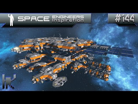 Space Engineers Inspiration - Episode 144: Longbow Carrier, SPHERIC Colony Module, & Eden Grove