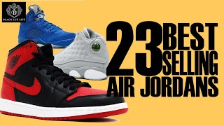 Black Excellist:  23 Most Popular Air Jordans