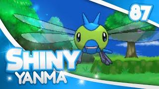 pokemon xy shiny hunting 87 174 horde encounters shiny yanma