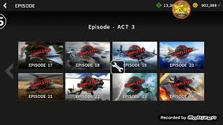 Gunship battle hack every mission just modified value Mission complete ...
