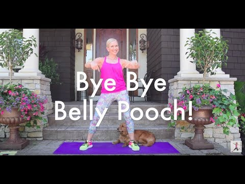 the best simple workout to lose that belly pooch  youtube