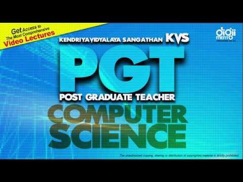 Kendriya Vidyalaya Sangathan Post Graduate Teacher (KVS PGT) Computer Science Paper Solution