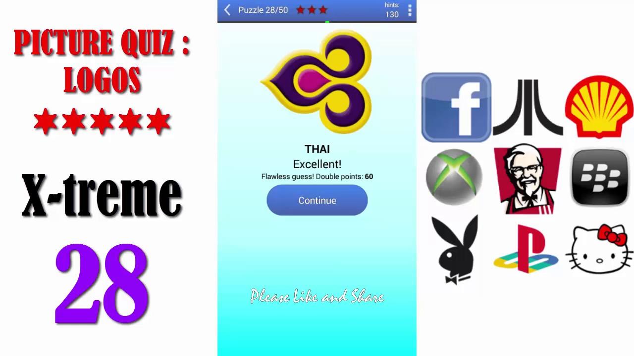 Picture Quiz Logos X Treme Level 28 All Answers Walkthrough Rh Youtube Com