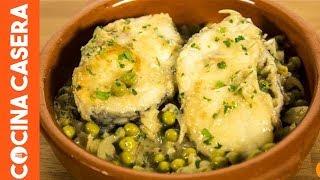 Merluza en Salsa Verde. Receta fáciles de pescado