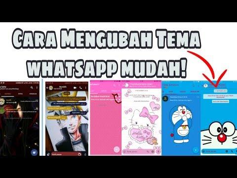 Cara Mudah Mengubah Tema Di Whatsapp