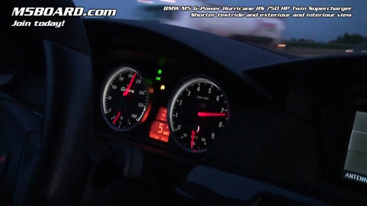 Hd G Power Hurricane Rs Bmw M5 Record Holder Car Overview And