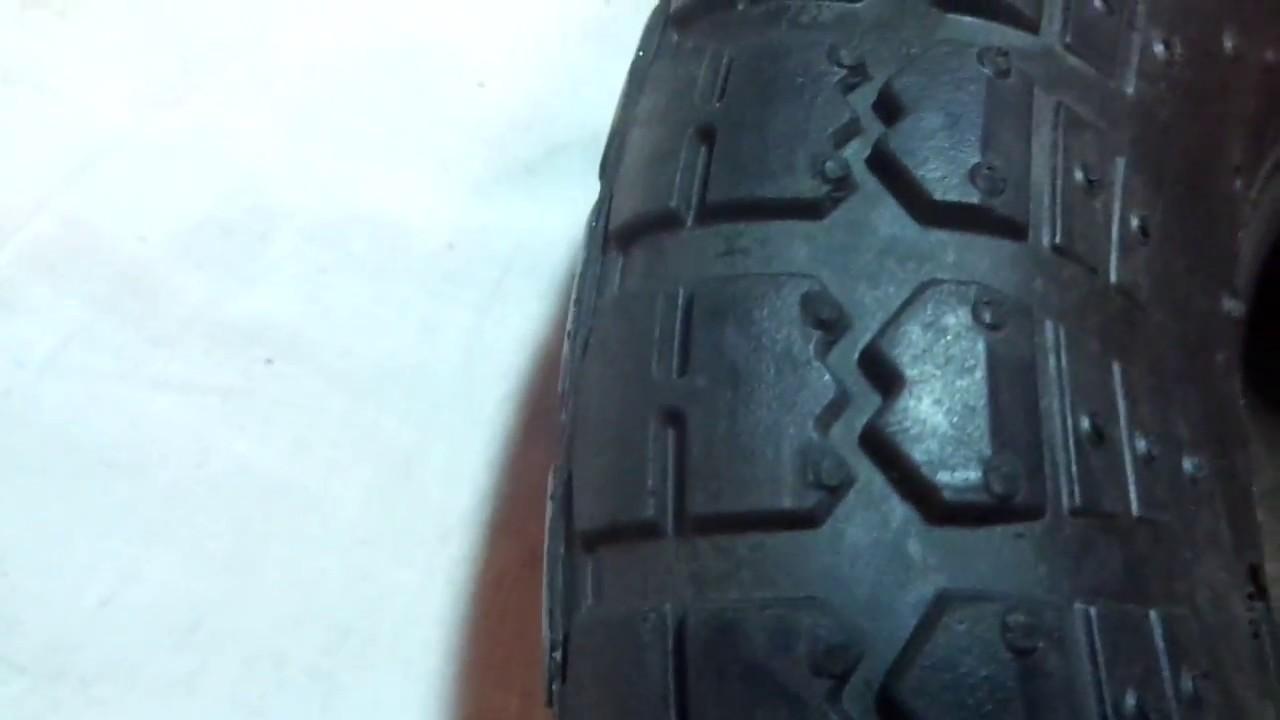 Шиповка колеса велосипеда на зиму/Шипуем велосипед - YouTube