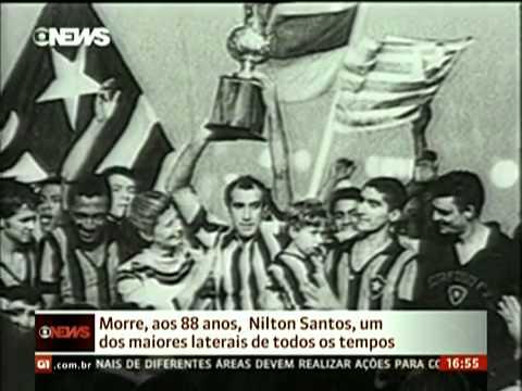 """Tostão """"Nilton Santos foi o maior jogador de defesa que vi no futebol brasileiro"""""""