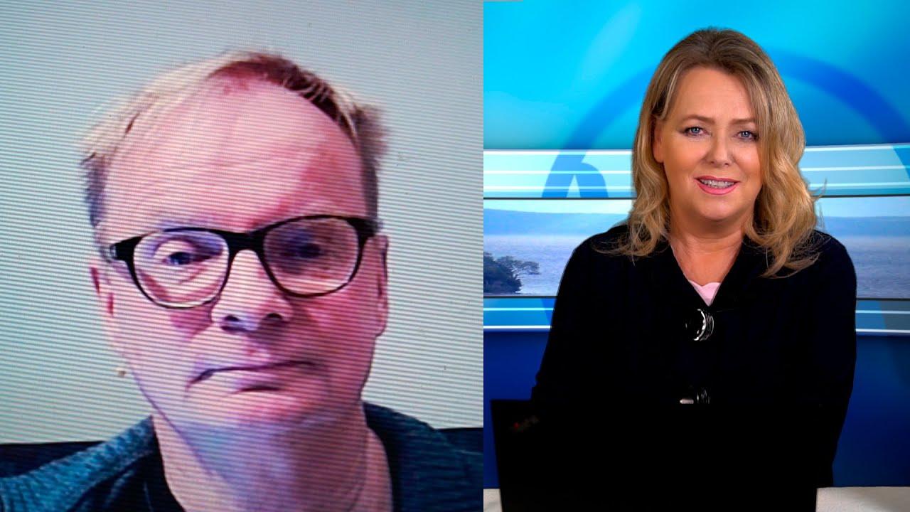 Knallharte Aussagen: Der sächsische Kabarettist Uwe Steimle bei Eva Herman